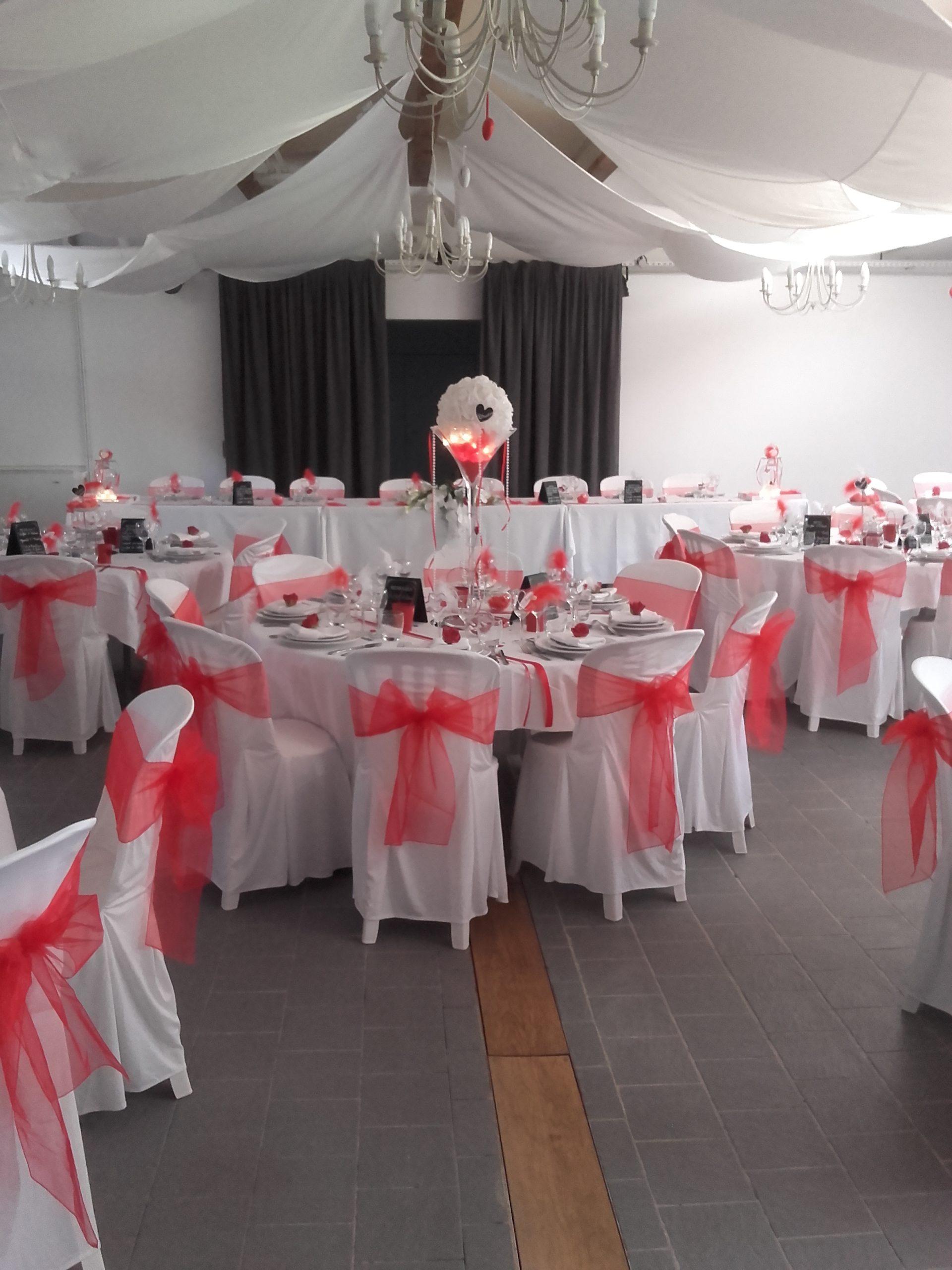 mise en place décoration mariage