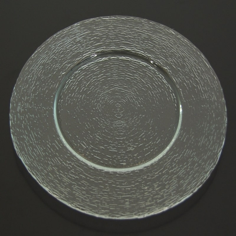 assiette transparente diam 32