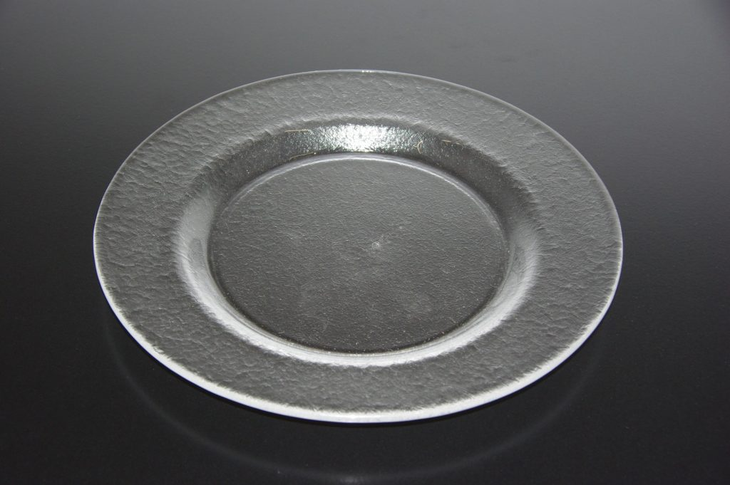Assiette transparent diam 26